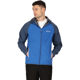 Regatta Arec II Chaqueta Softshell Hombre, nautical blue/dark denim